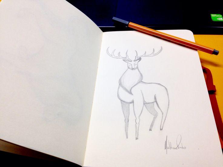 Type: Deer. Name: Liz.