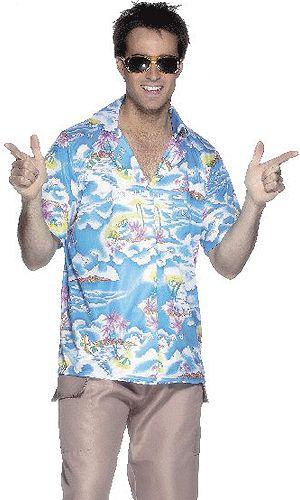Blauwe hawaii shirts. Hawaii of tropisch feestje? Bij Fun en Feest vind je de leukste Hawaii party kostuums en accessoires. Toppers Crazy Summer kleding tip!