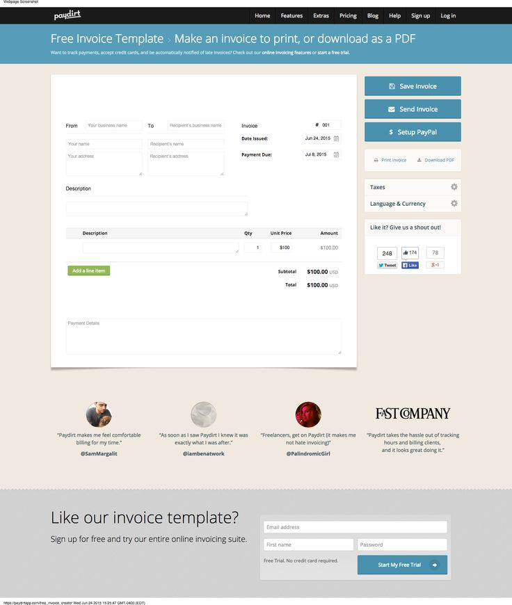 25+ parasta ideaa Pinterestissä Invoice creator - invoice making software