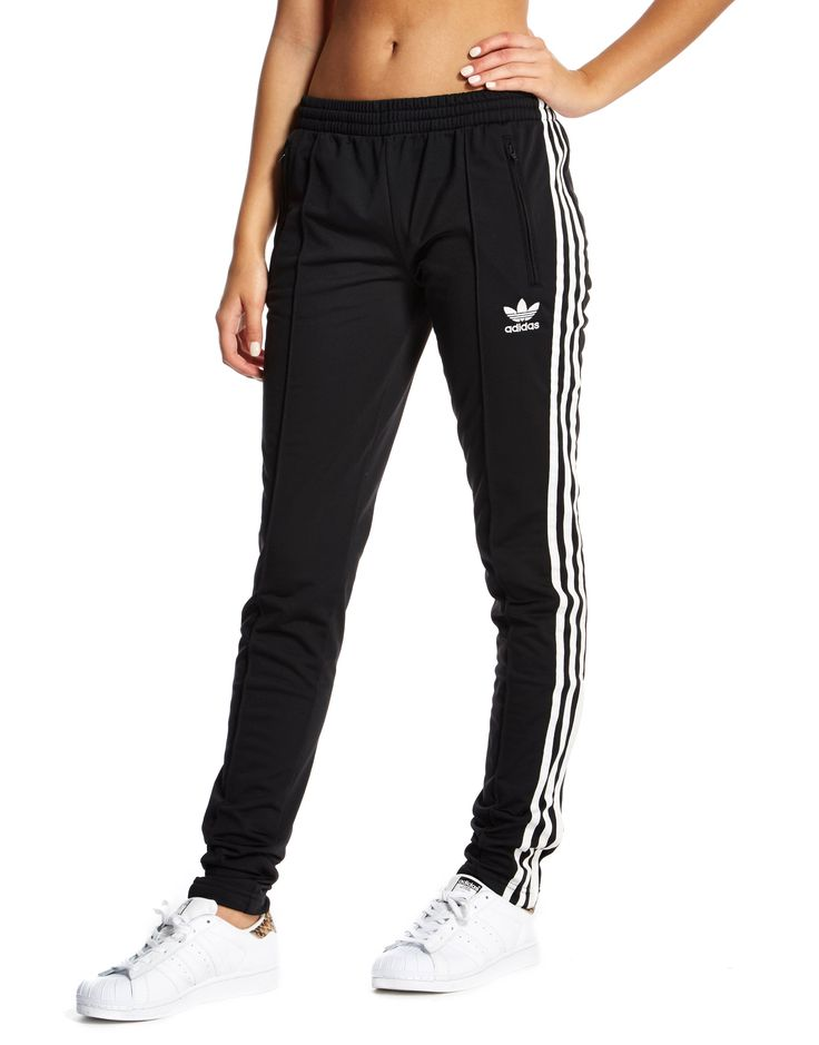 Simple Adidas Originals 3 Stripe Leggings In Black  Lyst