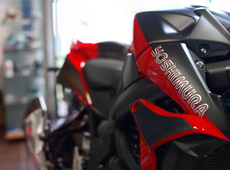 GSR750 Yoshimura - Création Olby Motos