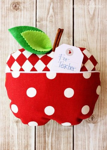 Apple Softie Sewing Pattern and Tutorial