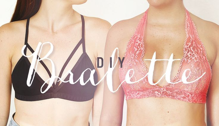 "We know the summer is winding down BUT WE WILL NOT GIVE IN. We recently went shopping for bralettes and we were like ""WTH, this is a piece of lace and some e..."