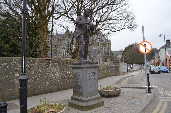 Emmet Square, Clonakilty statue