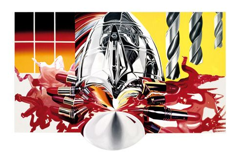 Collection Online James Rosenquist. The Swimmer in the