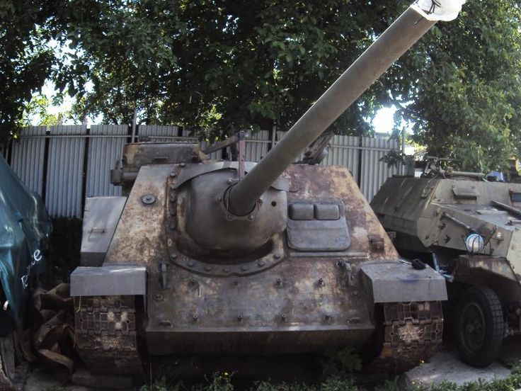 FOR SALE: SU 100 $72,000 - https://www.warhistoryonline.com/military-vehicle-news/for-sale-su-100-72000.html