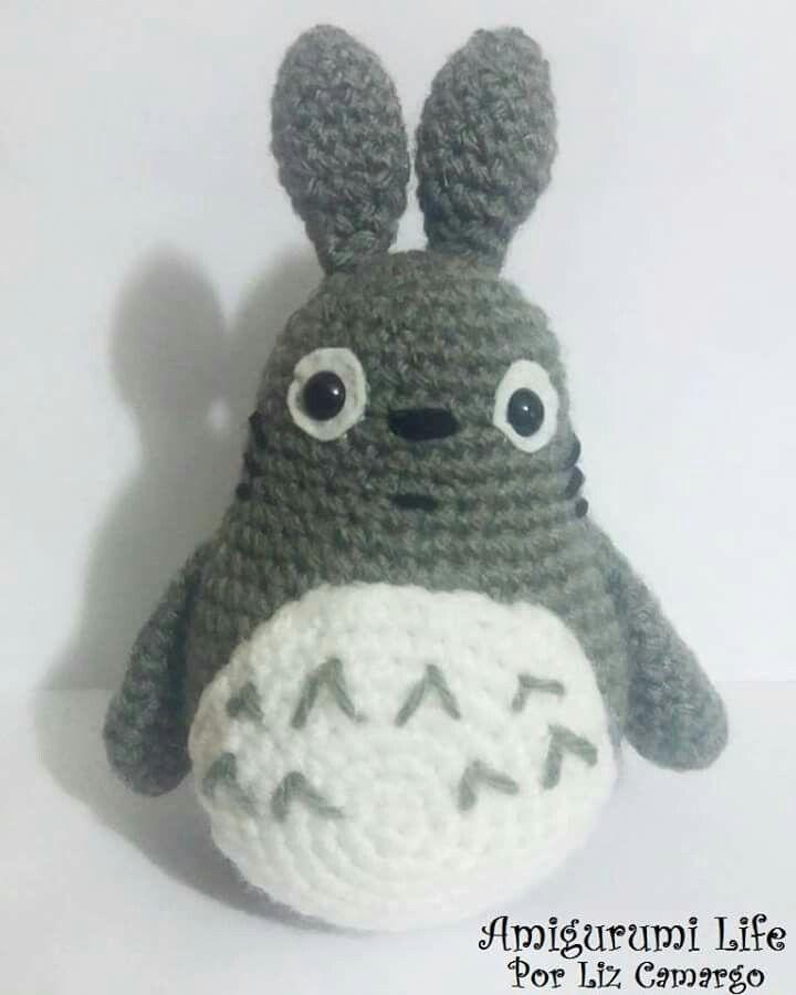 Totoro Amigurimi #totoro #amigurumilife