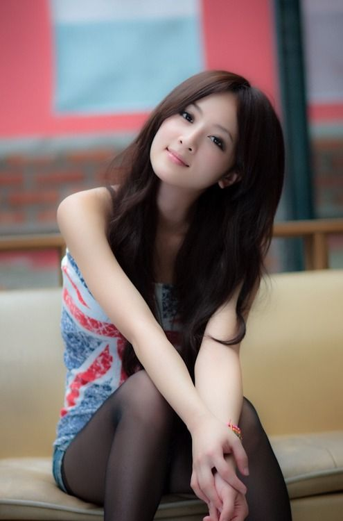 beautiful girls - asian girls Li Ying Zhi Chinese Model from Qingdao