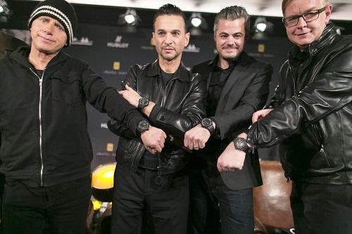 Hublot et Depeche Mode proposent 250 montres pour charity: water
