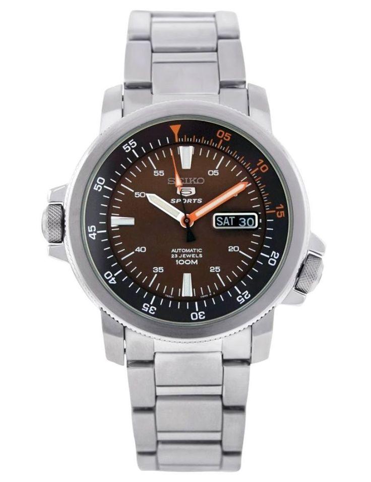 Seiko Men 5 SPORTS 7S36 100M Sport Watch (No Box) SNZJ55