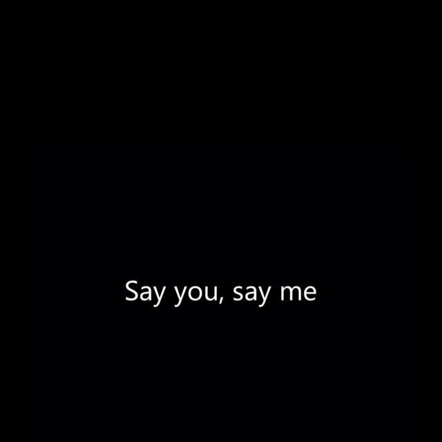 Lionel Richie - Say You - Say Me
