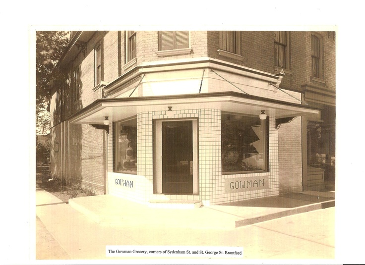 Gowman Grocery corner of Sydenham Street and St George Street owned by my great great grandmothers family