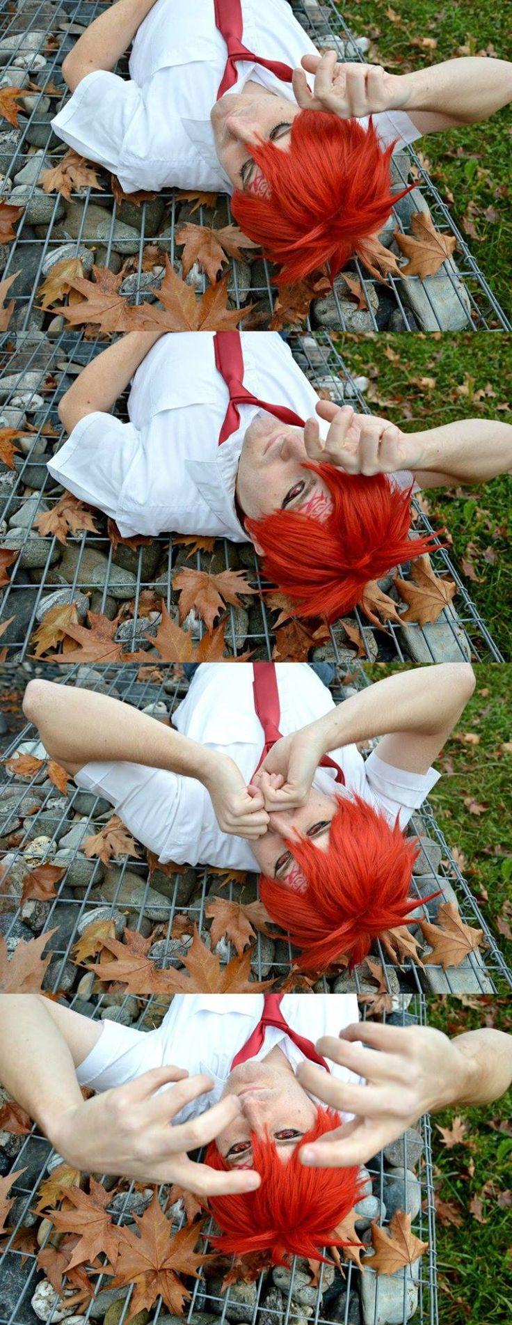 Cosplay di Gaara  Foto di Yuki Red (Livia) #gaara #cosplay