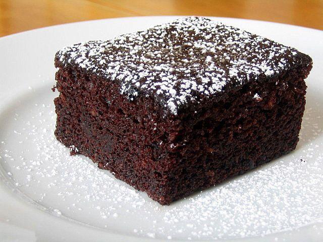Bolo de chocolate nutritivo   Nutrição, saúde e qualidade de vida