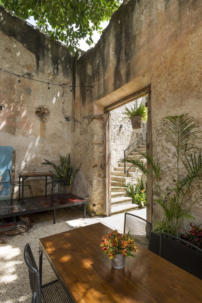 Recovery Gallery Colonial House in Calle 64 / Nauzet Rodriguez - 9
