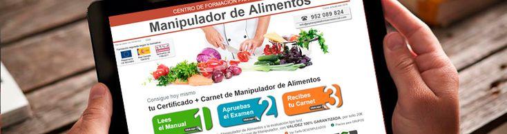 Manipulador de Alimentos: Nueva Web http://www.pymescomercial.com/blog/manipulador-de-alimentos-nueva-web/  Renovamos el formato y el diseño de nuestro curso online de Manipulador de Alimentos. Consigue hoy mismo tu Certificado / Carnet con Validez Oficial.