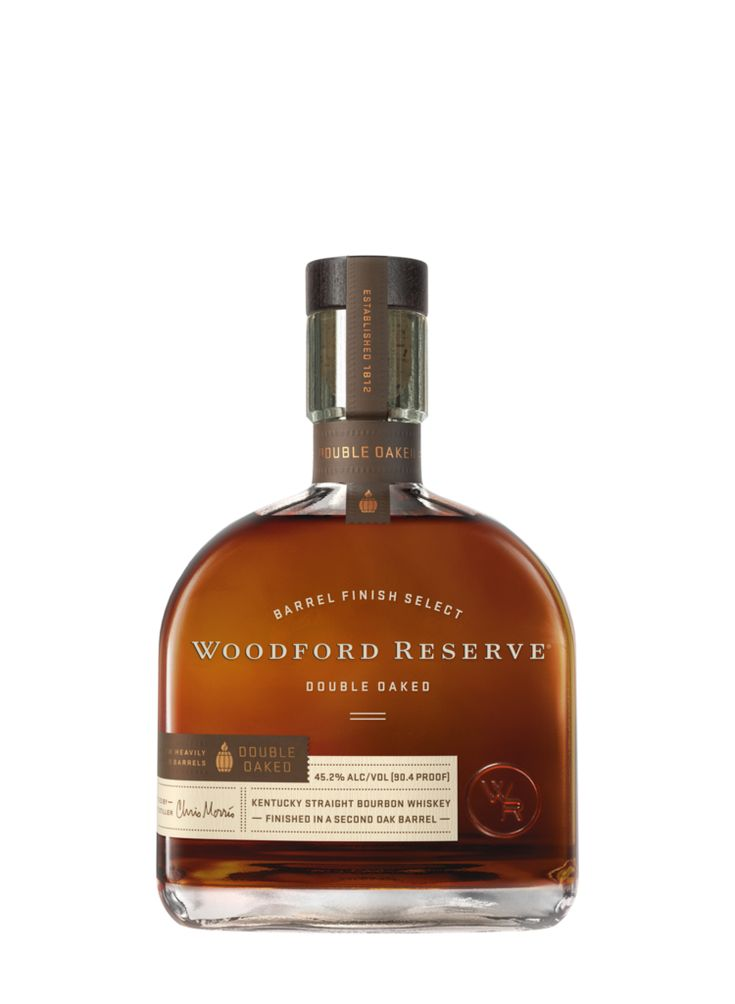 Woodford Reserve Distillery - Woodford Reserve Double Oaked Bottle and Label Redesign Dec 2016