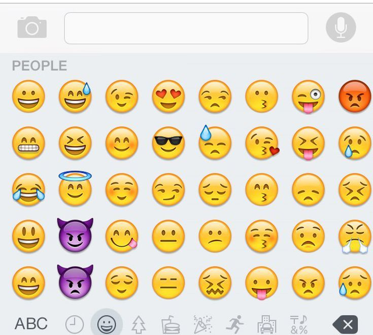 Finding Your iPhone's Secret Emoji Keyboard