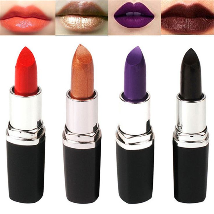 Hot Sale Brand Maquiagem Matt Batom Blue Dark 8 Color Lipstick  Long Lasting Lip Gloss Matte Lipstick Waterproof Dp006#