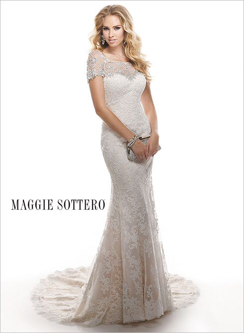 16 best Maggie Sottero images on Pinterest | Short wedding gowns ...