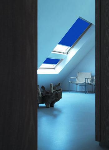 Store occultant - Obtenez un assombrissement total ou partiel de la pièce. Adaptable à la plupart des chassis de toit.
