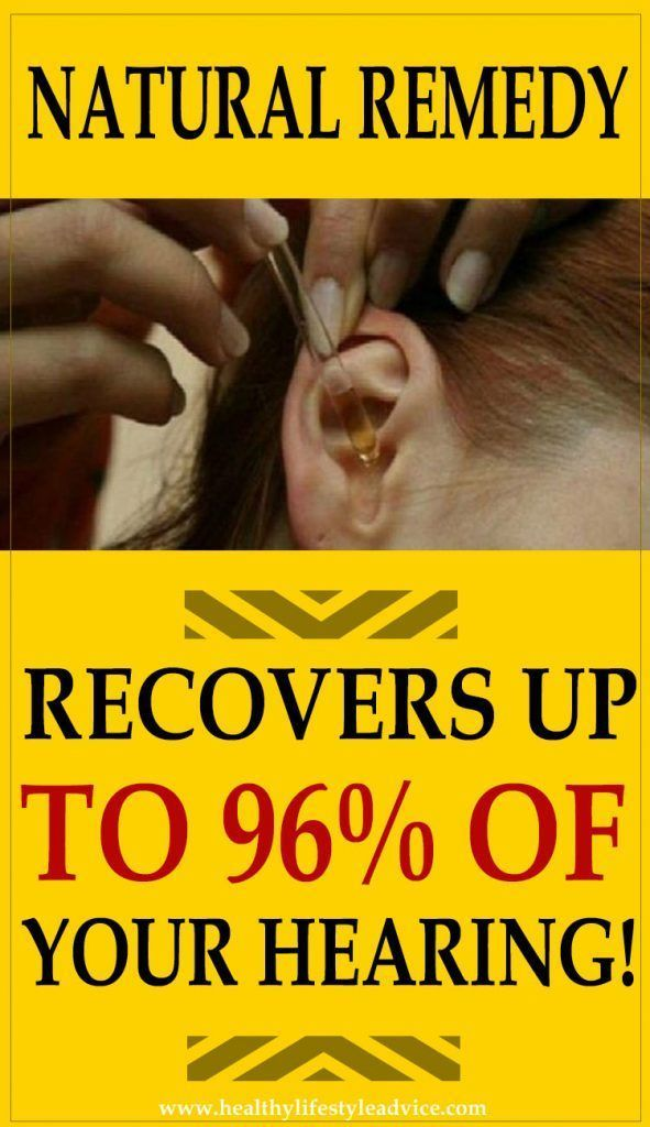 THIS Natural Remedy Recovers up to 96% of Your Hearing! It Is Also Beneficial for Elderly People Suffering from Hearing Loss! #TinnitusHomeRemedies