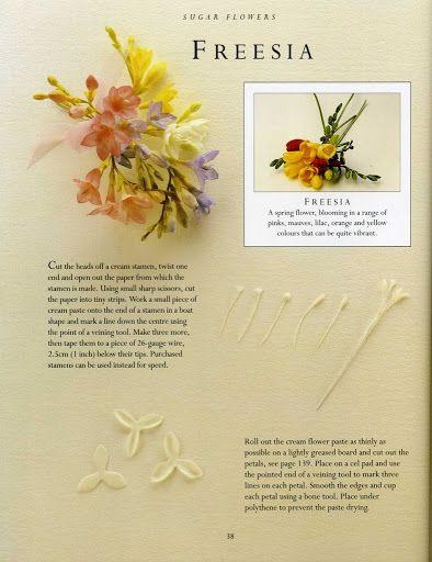 sugar flowers - FRESIA - Álbumes web de Picasa