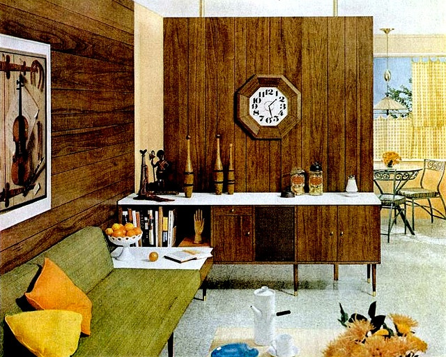 19 best images about 60s living rooms on pinterest for Apartment design retro