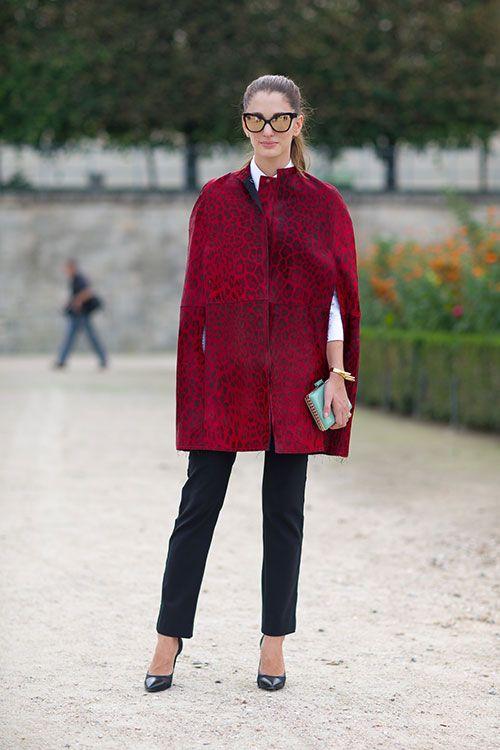 Street Style: Paris Fashion Week Spring 2014 - Sofia Sanchez Barrenechea