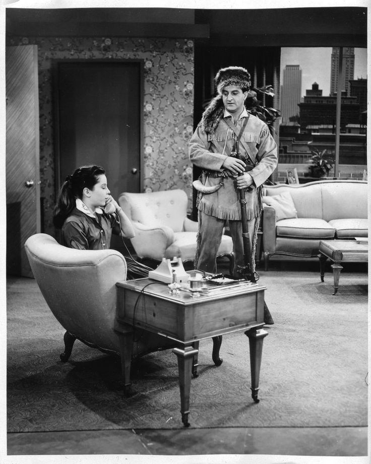 Danny Thomas Sherry Jackson 8x10 photo G3030