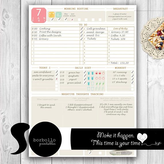 Best 25+ Planner inserts ideas on Pinterest Planner diy, The - printable day planner