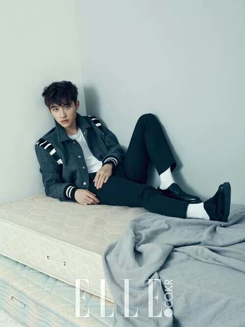 EXO | EXO-K | Do Kyung Soo (D.O.) | Elle Magazine December 2014 Issue | Facebook