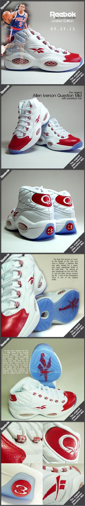Reebok Allen Iverson Question Mid