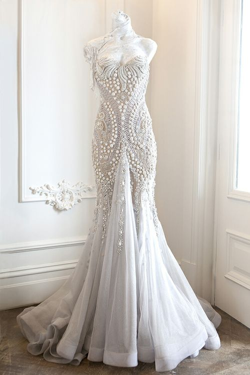 Wedding Dress Inspiration Rebecca Judds JAton Couture Gown