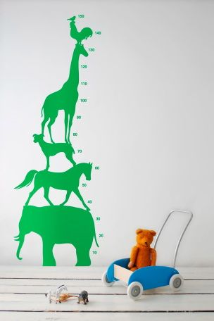 Ferm Living Stickers Animal Tower