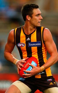 AFL players = talented athletes + hot damn Jack Gunston (Hawthorn Hawks)