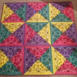 Bandana Quilt | Quiltsby.me