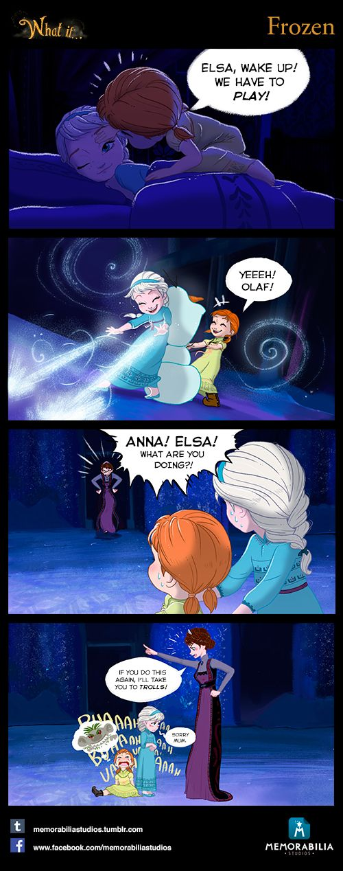 What If...Episode 4: Frozen.  Don't miss our Facebook page and our Tumblr Blog! :)
