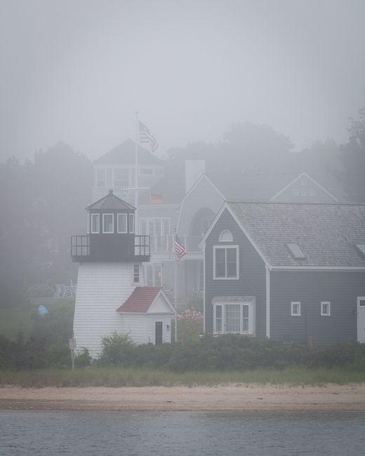 fall fog ~ nantucket.
