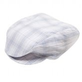 Dressy check page-boy cap | Little Styles