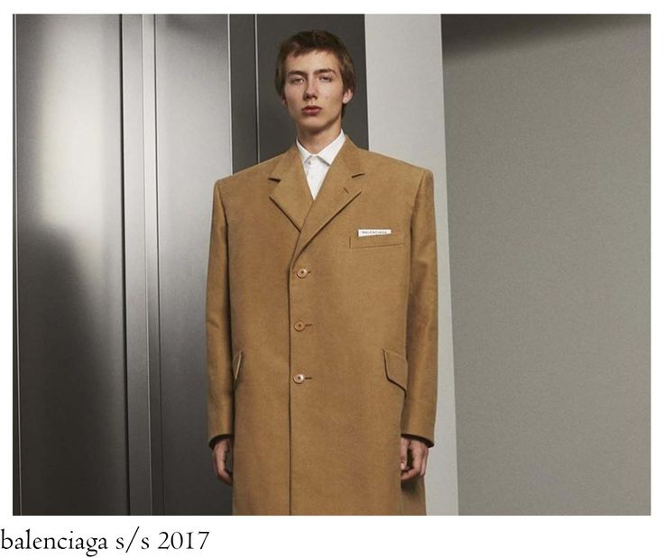 CLASSIC TAILORING IN GVASALIA WAY