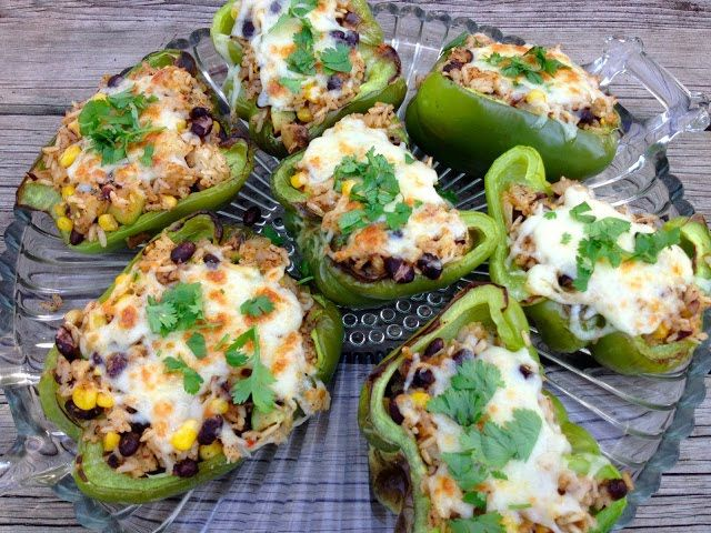 Southwest Stuffed Peppers // The Haas Machine