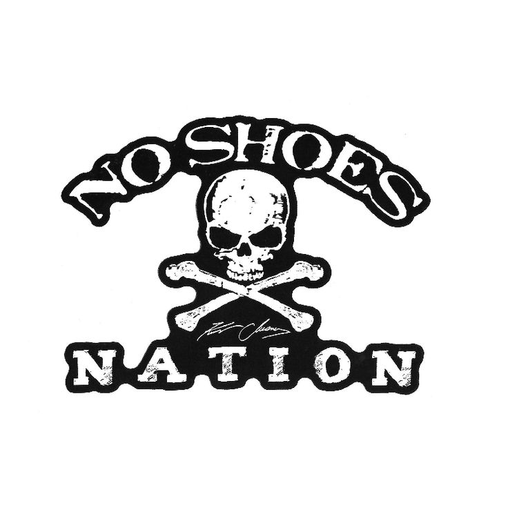 Kenny Chesney No Shoes Nation Die Cut Decal Wish List