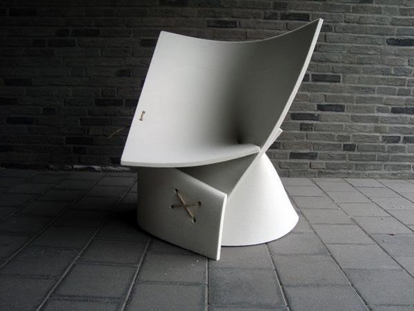 Felt Unique Chair 1