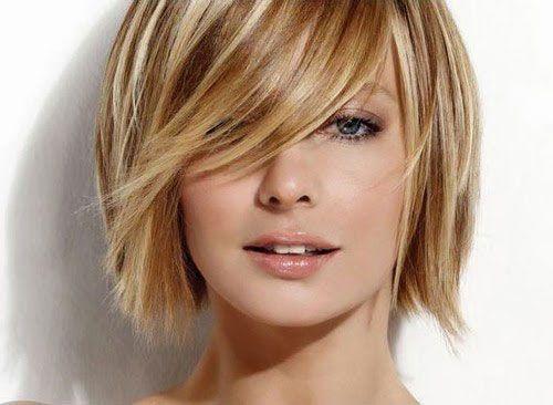 taglio capelli medi con frangia mamme a spillo