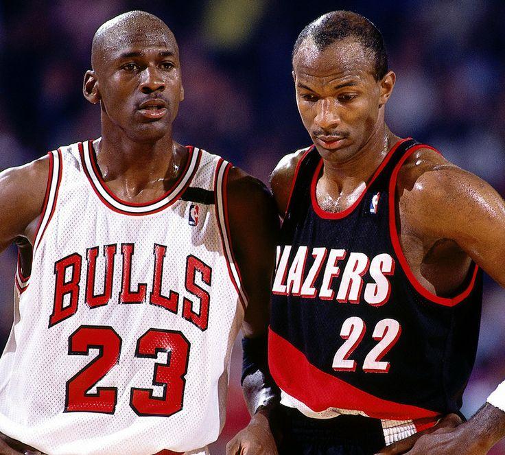 Clyde Drexler Couldnt Handle Mike In The '92 Finals