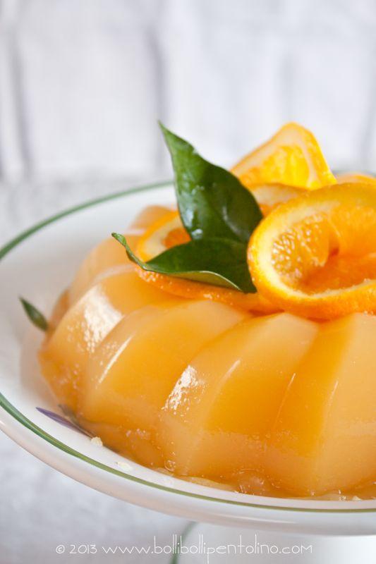 Gelo di arancia, ricetta della tradizione siciliana, Delicious