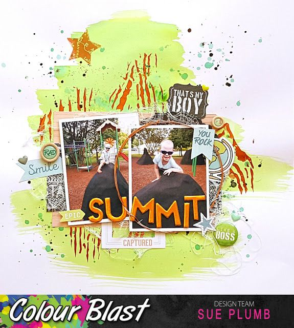 Look into my life: Epic Summit | Colour Blast | Sue Plumb