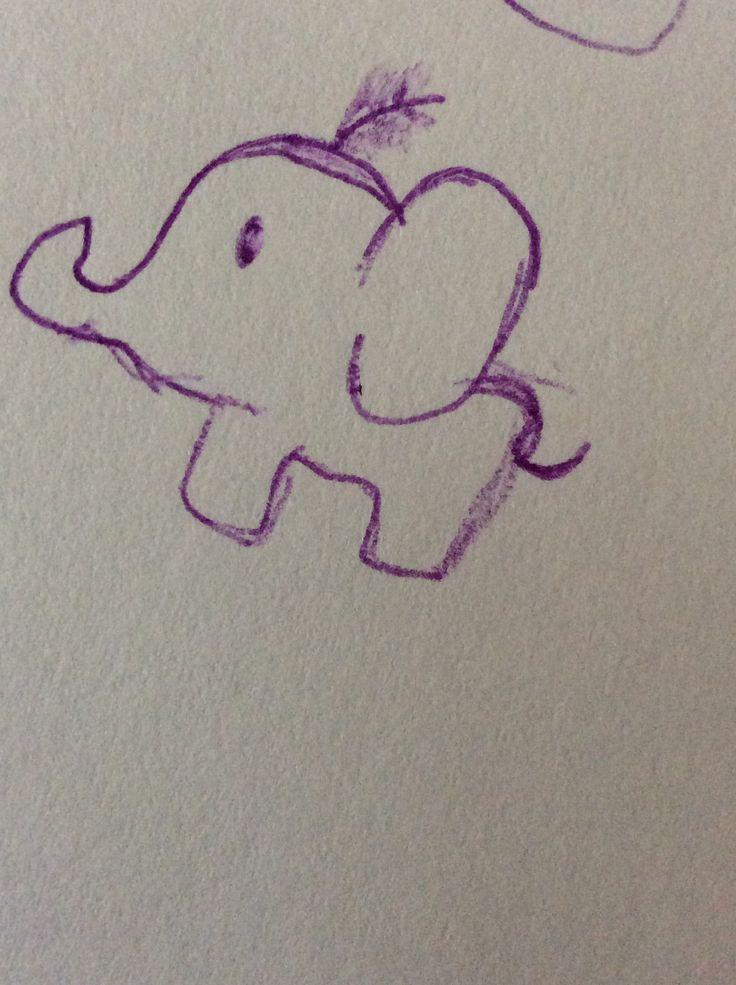 I simple cute elephant :D