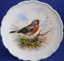Royal Albert - The Woodland Bird Collection - Collector Plates- Chaffinch